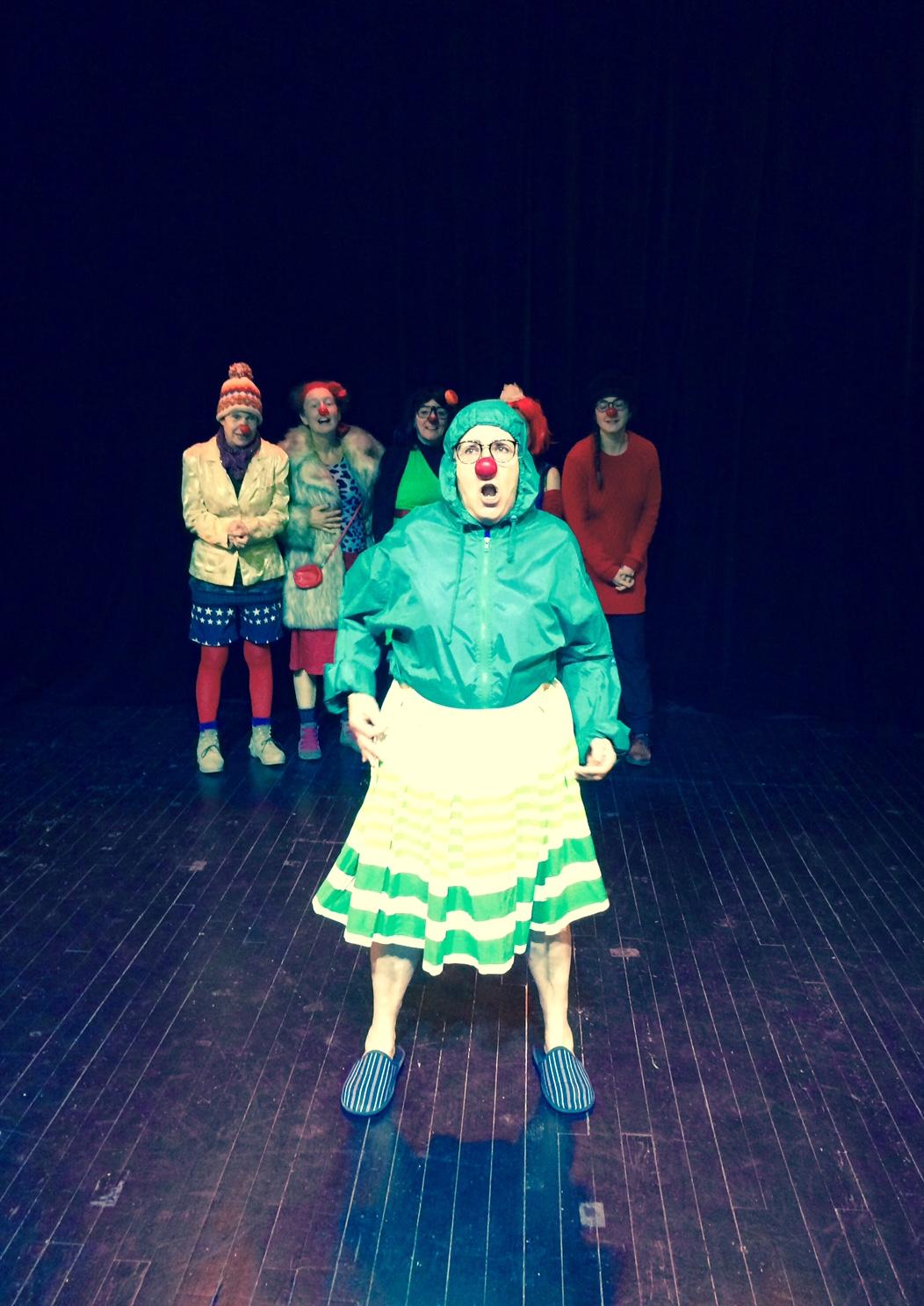 Cie du i – Stage clown 2